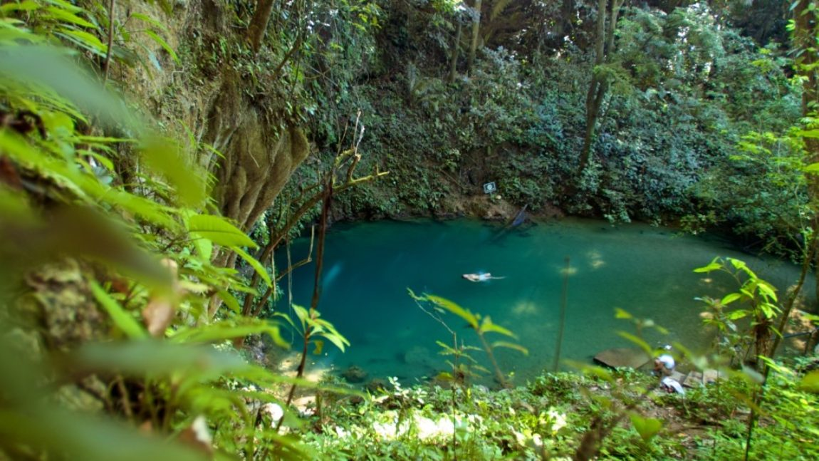 ST. HERMAN'S CAVE & BLUE HOLE NP